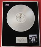 A-HA - Hunting High And Low PLATINUM LP presentation Disc